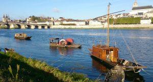 Port de Blois, site majeur de la batellerie traditionnelle de Loire